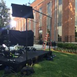"""Set for """"NBC Nightly News"""" at Lipscomb"""